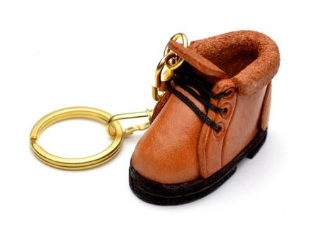 MOUNTAIN CLIMBING BOOT LEATHER KEYCHAIN VANCA