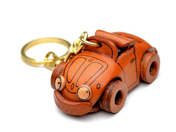 VOLKSWAGEN LEATHER KEYCHAIN VANCA