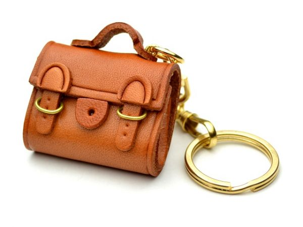 BUCKLES BAG LEATHER KEYCHAIN VANCA