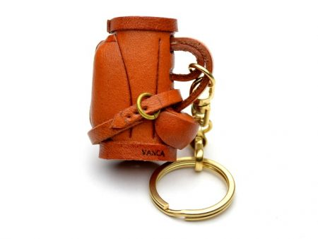 GOLF BAG LEATHER KEYCHAIN VANCA