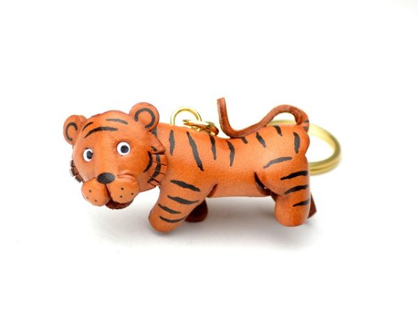 TIGER JAPANESE LEATHER KEYCHAINS VANCA