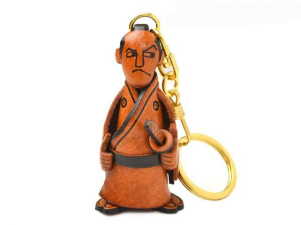 SAMURAI LEATHER KEYCHAIN VANCA