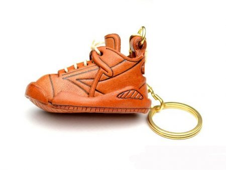 SNEAKER LEATHER KEYCHAIN VANCA