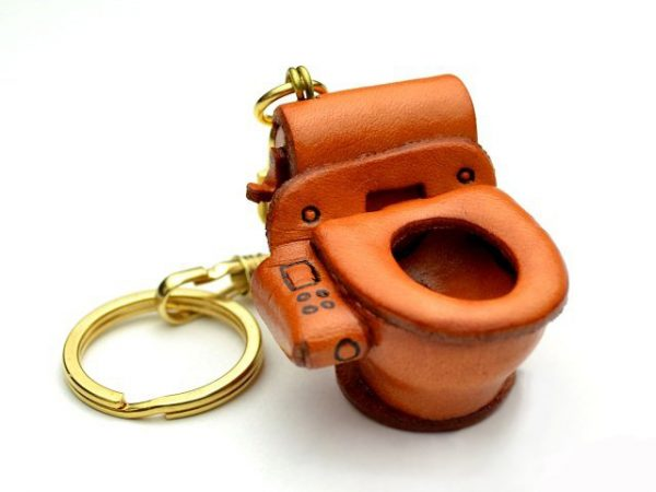 TOBOWL LEATHER KEYCHAIN VANCA