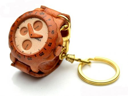 WATCH LEATHER KEYCHAIN VANCA