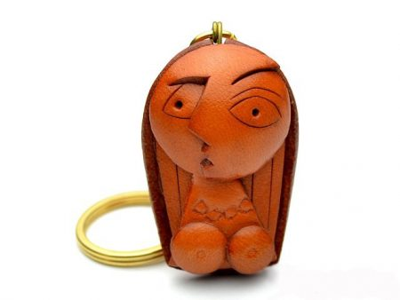 A WOMAN LEATHER KEYCHAIN VANCA