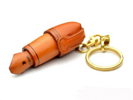 FOUNTAIN PEN LEATHER KEYCHAIN VANCA