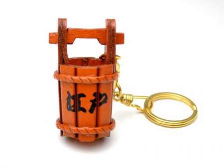 JAPANESE TUB LEATHER KEYCHAIN VANCA