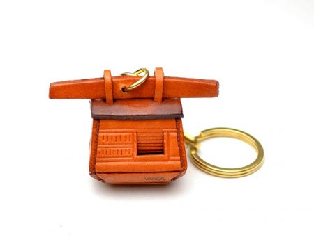 JAPANESE PALANQUIN LEATHER KEYCHAIN VANCA