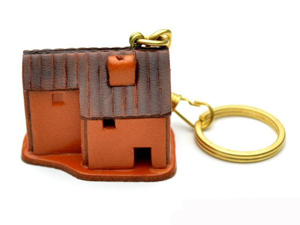 COUNTRY HOUSE LEATHER KEYCHAIN VANCA