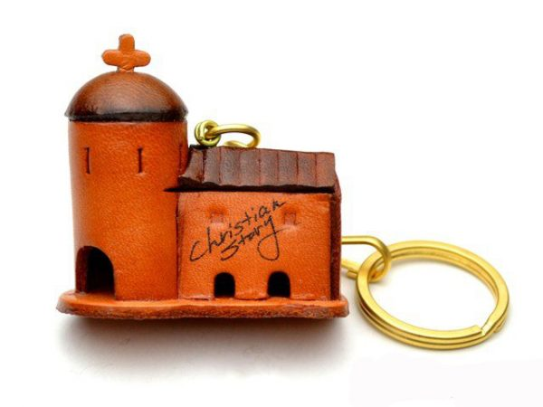 CHURCH LEATHER KEYCHAIN VANCA