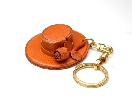 SPANISH HAT LEATHER KEYCHAIN VANCA