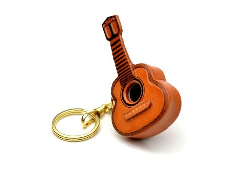 GUITAR LEATHER KEYCHAIN VANCA