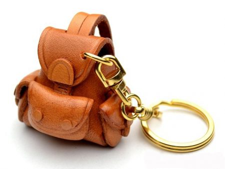 BACKPACK LEATHER KEYCHAIN VANCA