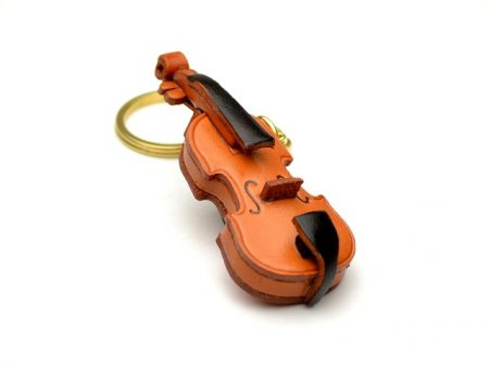 VIOLIN LEATHER KEYCHAIN VANCA