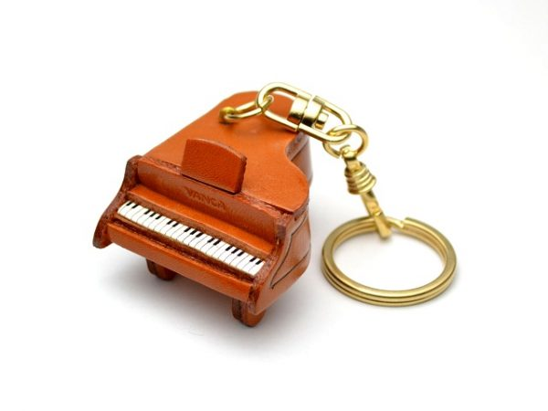 PIANO LEATHER KEYCHAIN VANCA