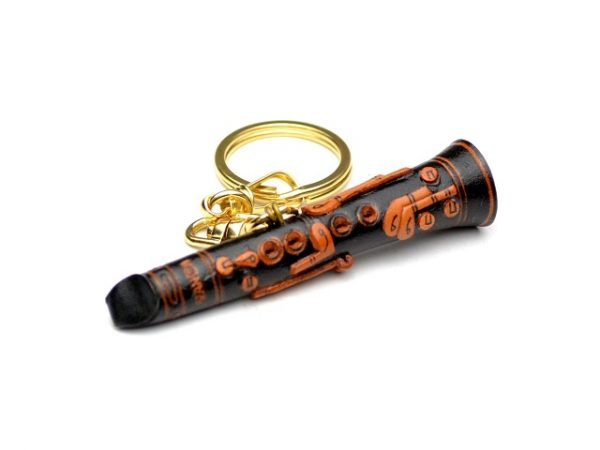 CLARINET LEATHER KEYCHAIN VANCA
