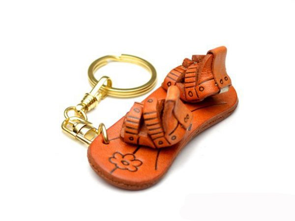 SNOWBOARD LEATHER KEYCHAIN VANCA