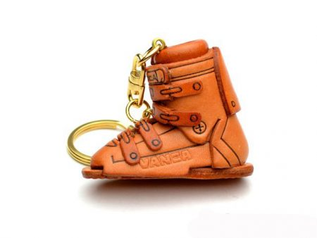 SKI BOOT LEATHER KEYCHAIN VANCA