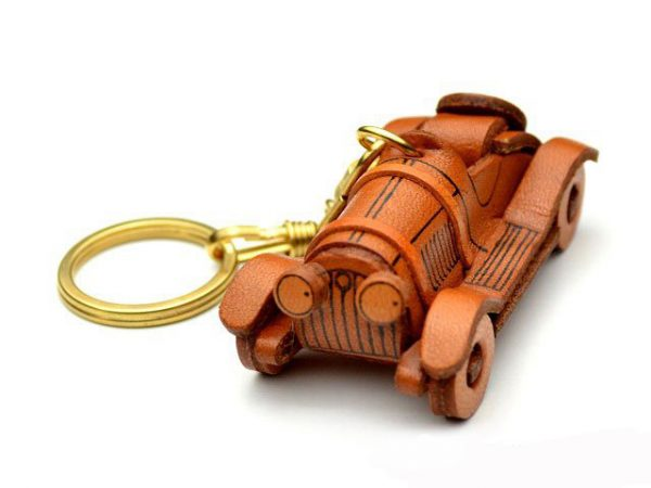 Classic Sports Car Leather Keychain VANCA