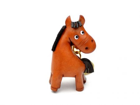 HORSE LEATHER KEYCHAIN VANCA