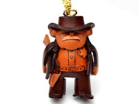 SHERIFF LEATHER KEYCHAIN VANCA