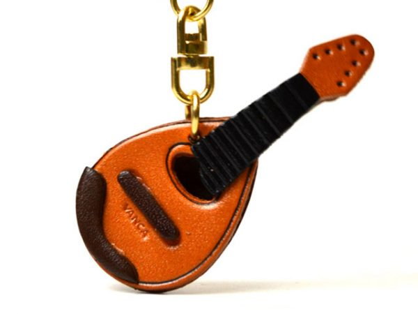 MANDOLIN LEATHER KEYCHAIN VANCA