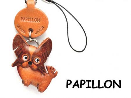PAPILLON LEATHER CELLULARPHONE CHARM VANCA