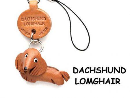 DACHSHUND LONGHAIR LEATHER CELLULARPHONE CHARMDACHSHUND LONGHAIR LEATHER CELLULARPHONE CHARM VANCA