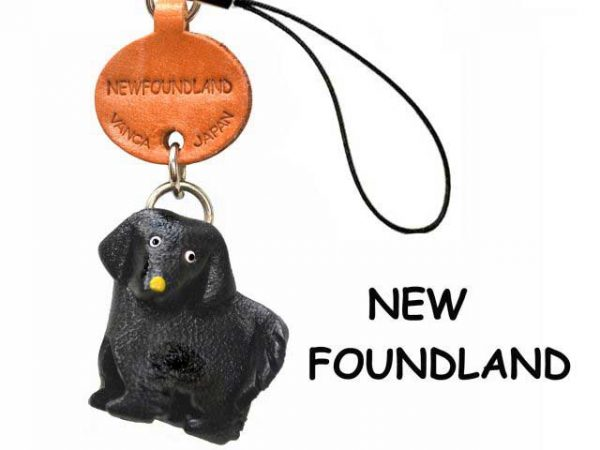 NEWFOUNDLAND LEATHER CELLULARPHONE CHARM VANCA
