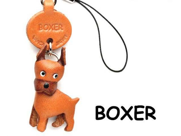 BOXER JAPANESE LEATHER CELLULARPHONE CHARM VANCA