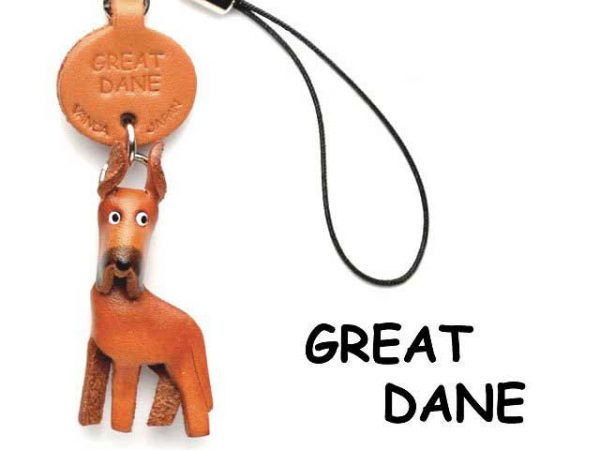 GREAT DANE LEATHER CELLULARPHONE CHARM VANCA