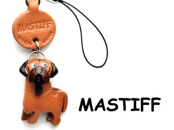 MASTIFF LEATHER CELLULARPHONE CHARM VANCA