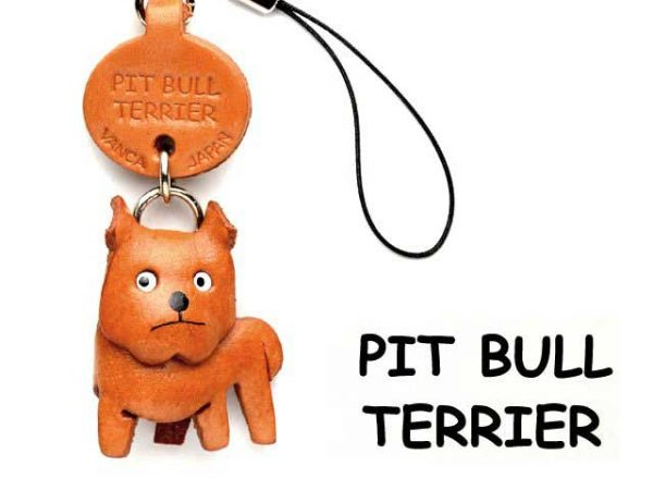 PIT BULL LEATHER CELLULARPHONE CHARM VANCA