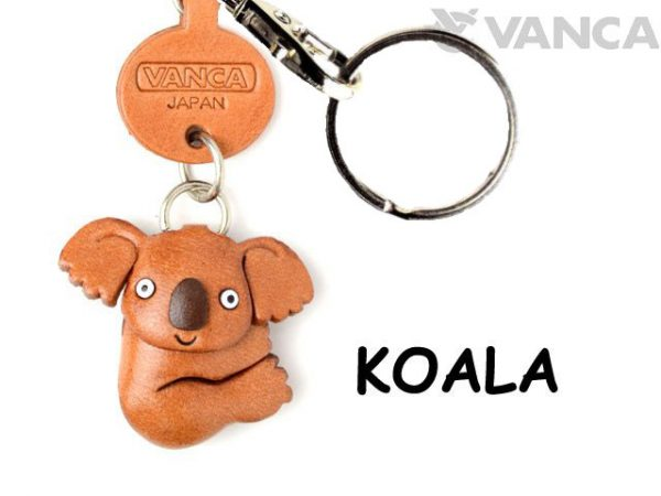 KOALA LEATHER KEYCHAINS ANIMAL VANCA
