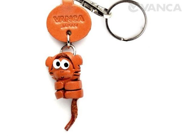 MONKEY LEATHER KEYCHAINS LITTLE ZODIAC MASCOT VANCA