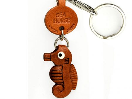 SEA HORSE LEATHER KEYCHAINS FISH VANCA