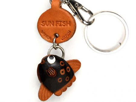 SUNFISH LEATHER KEYCHAINS FISH VANCA