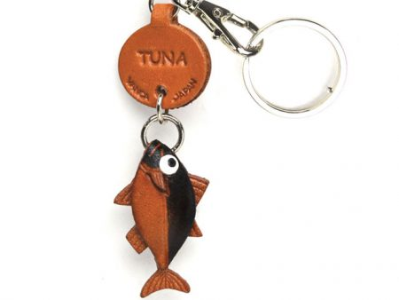 TUNA LEATHER KEYCHAINS FISH VANCA