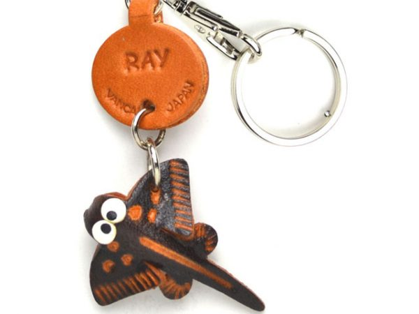 RAY LEATHER KEYCHAINS FISH VANCA