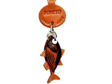 BONITO LEATHER KEYCHAINS FISH VANCA