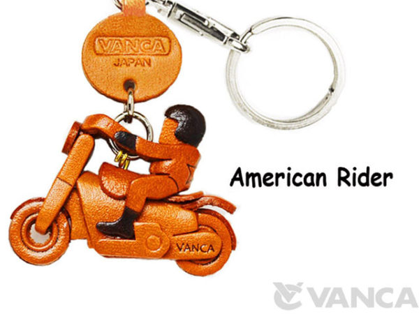 AMERICAN RIDER LEATHER KEYCHAINS GOODS