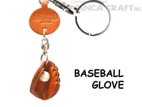 BASEBALL GLOVE LEATHER KEYCHAINS GOODS