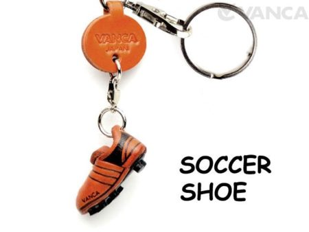 SOCCER SHOE LEATHER KEYCHAINS GOODS