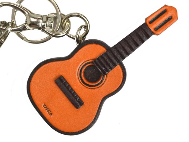 GUITAR LEATHER GOOD BAG CHARM