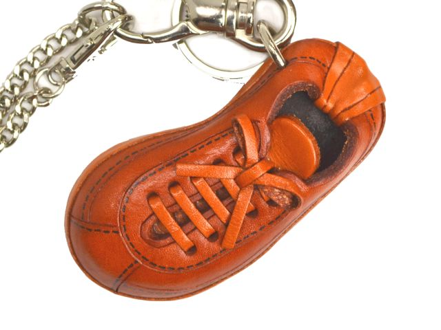 SNEAKER LEATHER SPORTS BAG CHARM