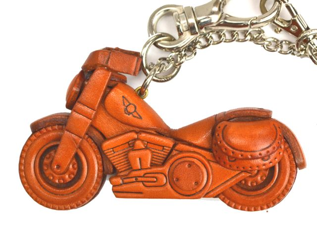 CHOPPER BIKE LEATHER GOODS BAG CHARM