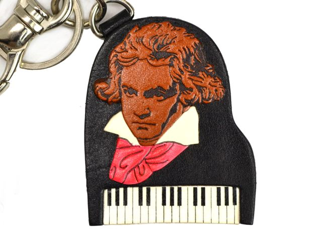 BEETHOVEN HANDMADE LEATHER GOODS BAG CHARM