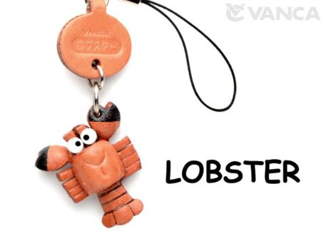 LOBSTER LEATHER CELLULARPHONE CHARM FISH