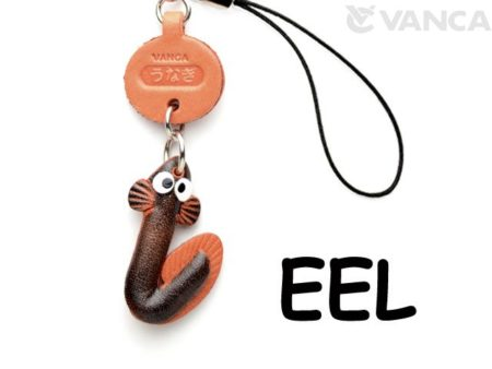 EEL LEATHER CELLULARPHONE CHARM FISH